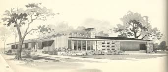 Midcentury Modern House Plans - vintage house plans 3190 antique alter ego