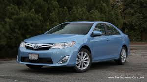 2012 toyota camry hybrid exterior front 3 4 photography