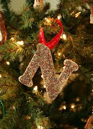 glittery initial ornaments let s explore