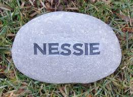 engraved stones personalized engraved 3 4 inch garden marker