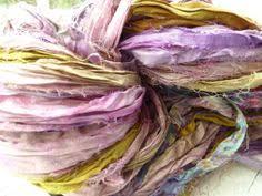 sari silk ribbon great for gift wrapping recycled silk sari ribbon 50 yards