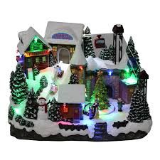 shop christmas villages at lowes com