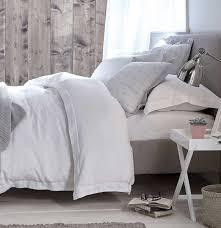 vintage french linen white duvet set super king