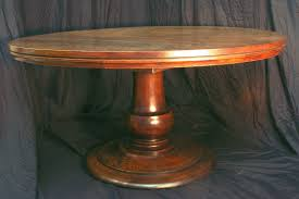 Dining Room Tables With Built In Leaves 42 Inch Round Pedestal Table Huge Tear Drop Pedestal Solid Wood