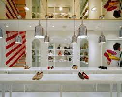 display product room shop interior design furniture advertisement in