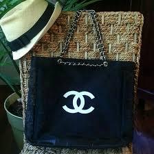 mesh gift bags 70 chanel handbags chanel vip gift bag mesh tote bag