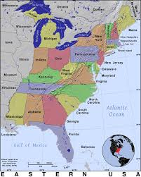 map usa and states east coast usa states northeast us airports map map usa eastern