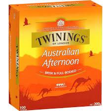 twinings australian afternoon tea bags 100pk 200g woolworths
