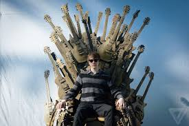 Chair Game Of Thrones Gibson Built Game Of Thrones U0027 Iron Throne Out Of Guitars And Took