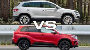 2018 skoda karoq vs 2017 suzuki vitara youtube regarding suzuki
