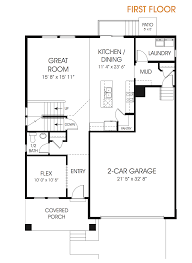 make your floor plan lauren new utah two story floor plan edge homes