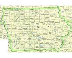 road map of iowa usa maps of iowa state collection of detailed maps of iowa state