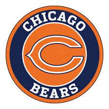 Chicago Bears Bears Roundel Area Rug 27