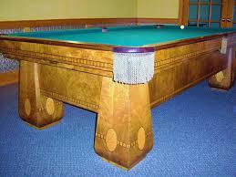 brunswick brighton pool table antique 1924 bbc medalist pool table brunswick