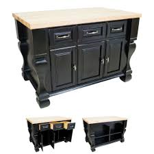 black kitchen island kitchen islands