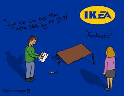 Ikea Furniture Meme - if ea owned ikea imgur