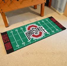 Ohio State Runner Rug State Buckeyes Football Field Runner Rug