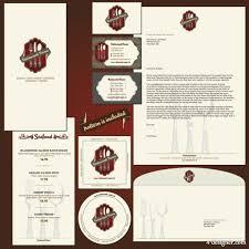 4 designer the the menu restaurant tab template 01 vector material