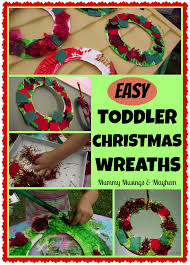easy and thrifty christmas craft for toddlers let them design