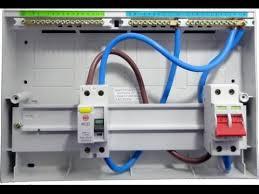 single pole mcb circuit breaker wiring in urdu and hindi youtube