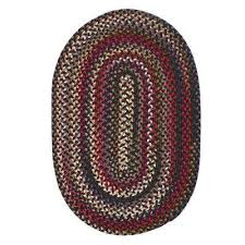 Braided Throw Rugs Colonial Mills Braided Area Rugs Rugs The Home Depot