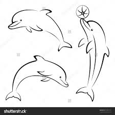 cartoon drawing dolphin how to draw a cartoon dolphindunham000 on