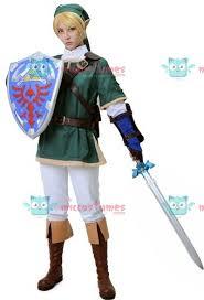 Zelda Costumes Halloween Zelda Twilight Princess Link Cosplay Costume Sale