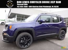 purple jeep renegade 2017 jetset blue jeep renegade latitude 4x4 118949749 gtcarlot