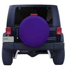purple jeep plain purple spare tire cover
