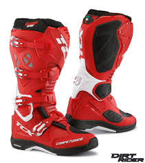 red dirt bike boots tcx boots 2016 tcx comp evo michelin boots dirt rider