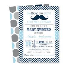 retro mustache baby shower invitations boys navy u0026 grey