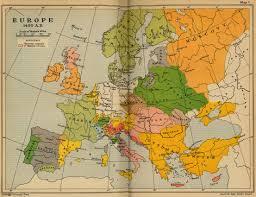 Show Me A Map Of Europe Cambridge Modern History Atlas 1912 Perry Castañeda Map