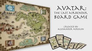 Avatar The Last Airbender Map Avatar The Last Airbender Board Game Youtube