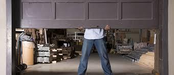Security Garage Door by Garage Door Control Ackerman Security Systems