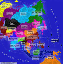 Northern Asia Map by Asia Huge Map
