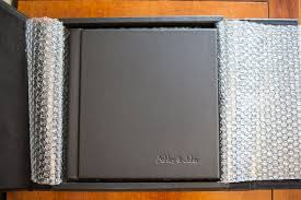 engraved photo albums leather engraved photo album brianca designs