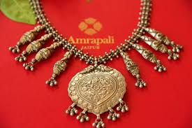 necklace online store images Buy ethnic indian silver tribal necklace online in usa at pure JPG