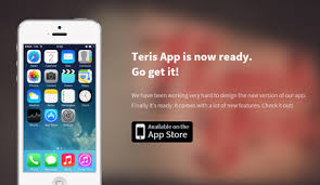 free template teris bootstrap iphone app landing page azmind