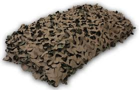 Camouflage Netting Decoration Camo Net Camouflage Netting Reversible Green Brown Hunting