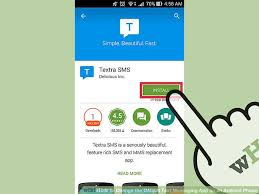 android change default app how to change the default text messaging app on an android phone