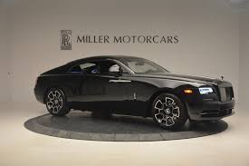 rolls royce sport car 2017 rolls royce wraith black badge stock r425 for sale near