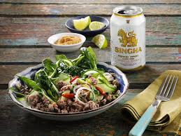 singha cuisine and singha teamed up for a supper on a barge