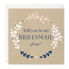 bridesmaid cards will you be my bridesmaid card project pretty