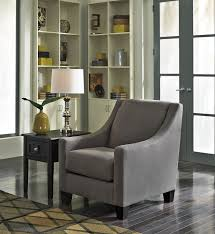 Upholstered Accent Chair 4520021 Maier Charcoal Finish Fabric Upholstered Accent Chair