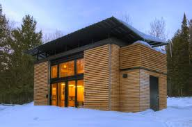 Mini Homes For Sale by E D G E High Efficiency Cabin Really Neat Design I Like The