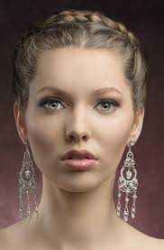 hairstyles for oval faces braided twist updo for oval and round faces