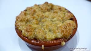 que cuisiner ce soir dessert d un soir 1 crumble aux poires et aux epices laclac