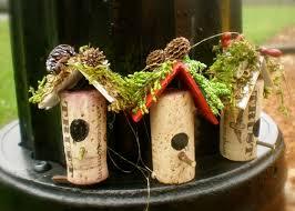 wine cork birdhouse ornaments cork korok wine