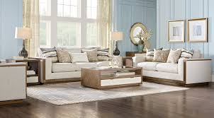 Rooms To Go Living Room Set Cindy Crawford Home Pacific Harbor Beige 5 Pc Living Room Living