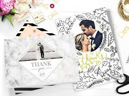 thank you cards wedding wedding thank you cards w photos from your big day personalized
